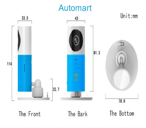 SMARTEST PLUG & PLAY 2 WAY TALKING WIFI IP CAMERA
