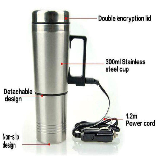 Car Stainless Steel Coffee Mug Flask/Kettle