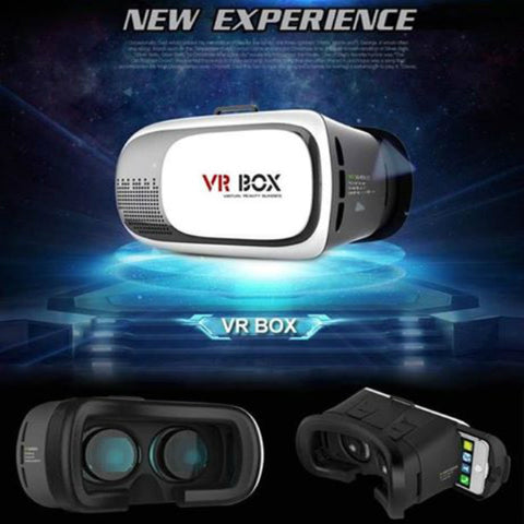 VR BOX ( VR Virtual Reality Glasses ) with Bluetooth Remote Control