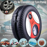 12V Car Mini Wheel Tyre Shape Air Compressor