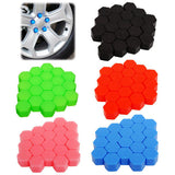 Silicon Wheel Hub Nut Covers