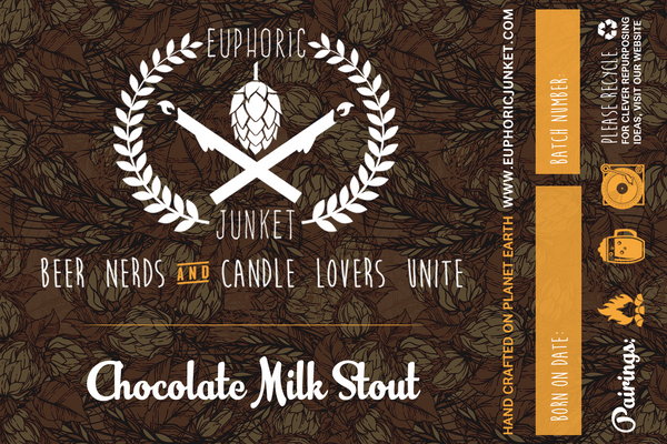Chocolate Milk Stout Craft Candle