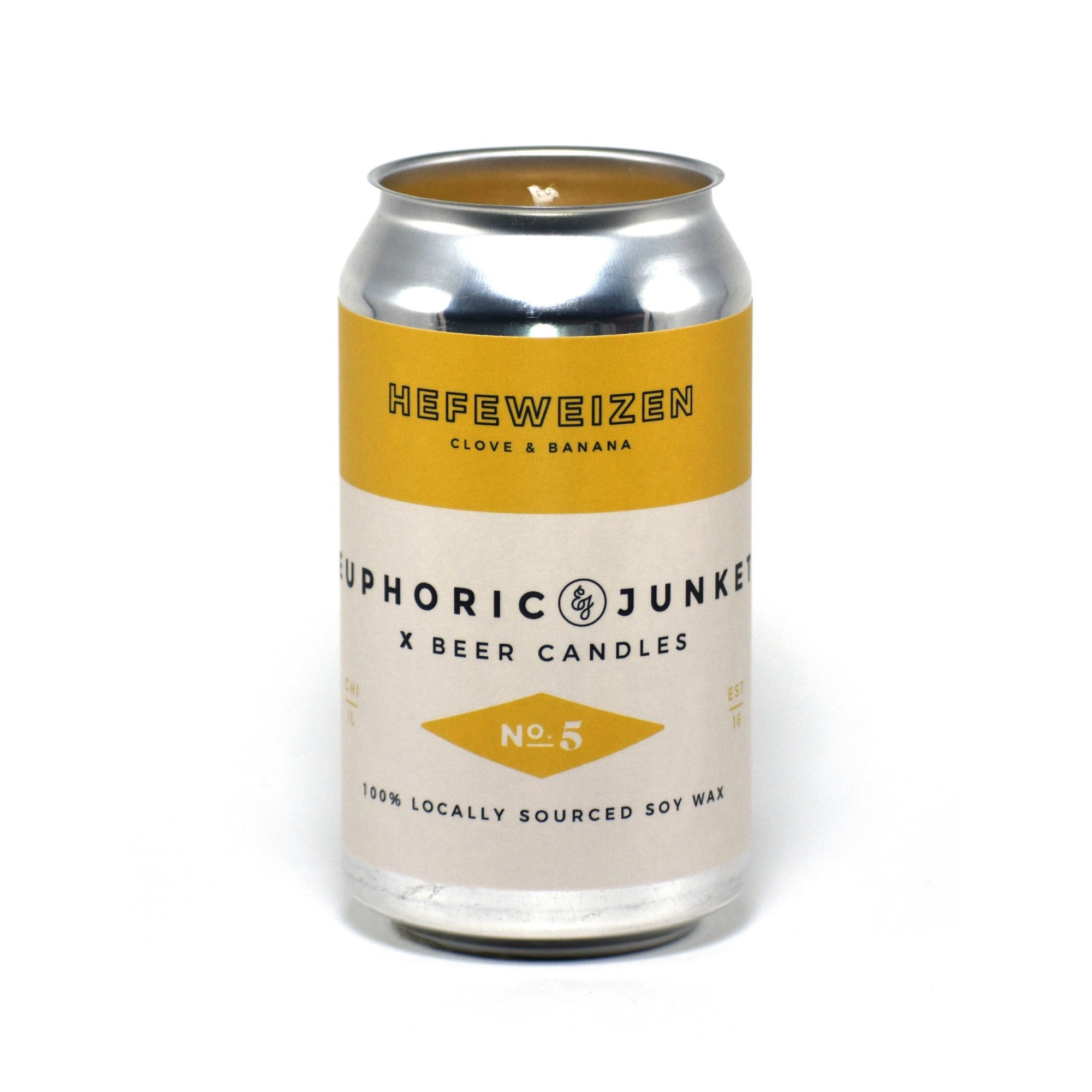Hefeweizen 12 oz Beer CAN·dle