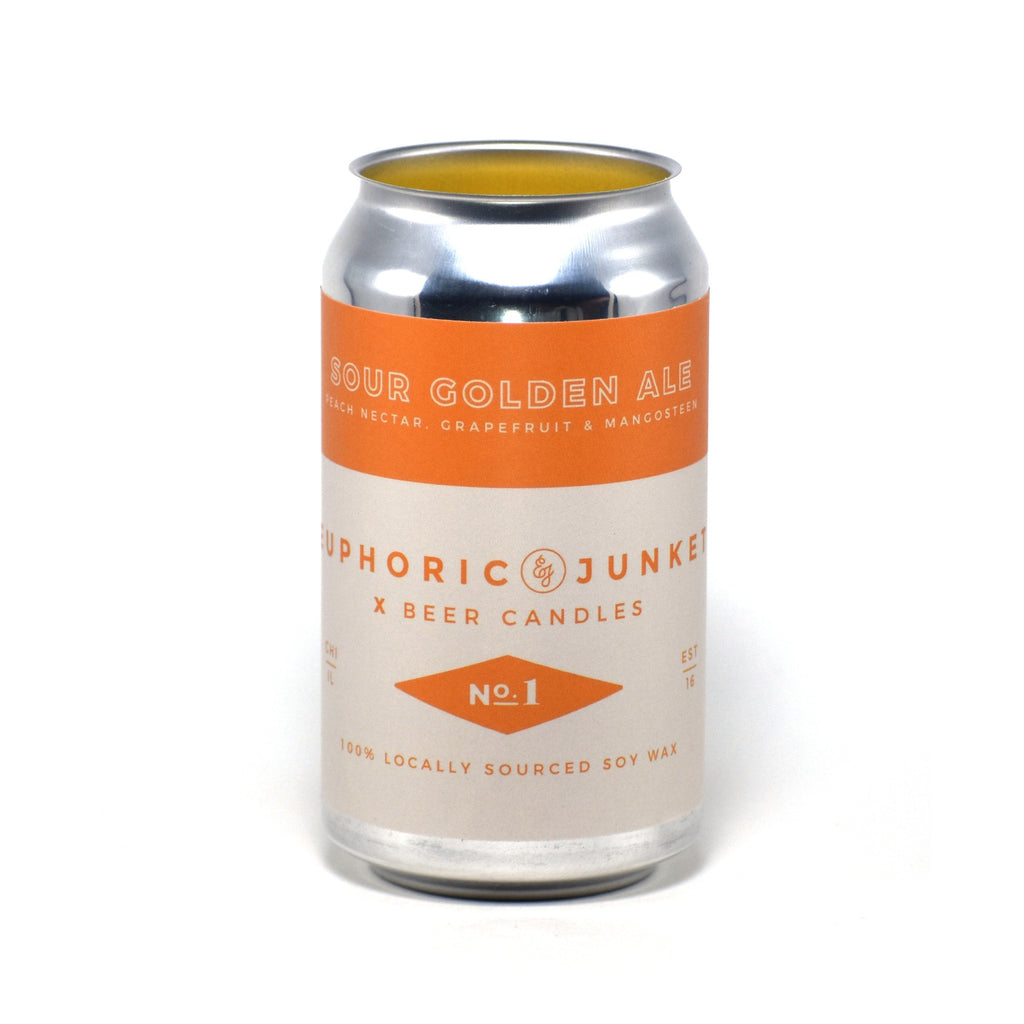 Sour Golden Ale 12 oz Beer CAN·dle
