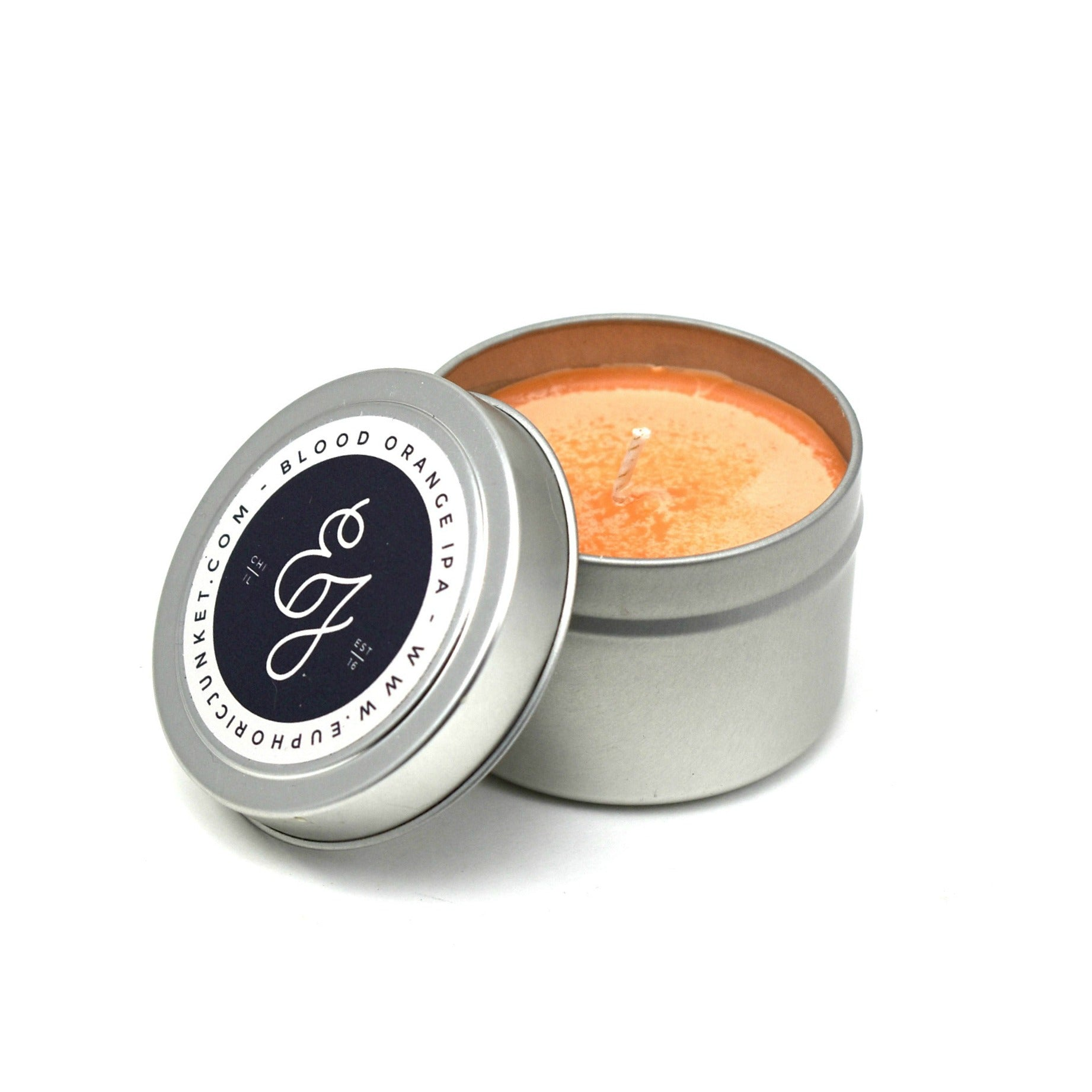 Blood Orange IPA Travel Candle