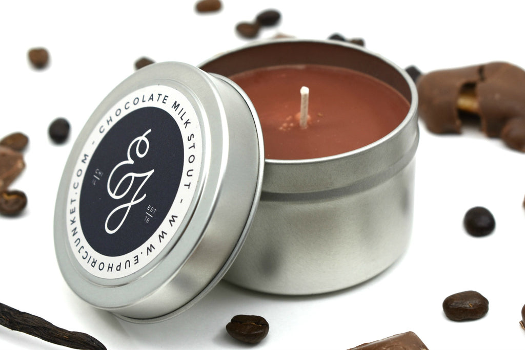 Chocolate Milk Stout Travel Candle