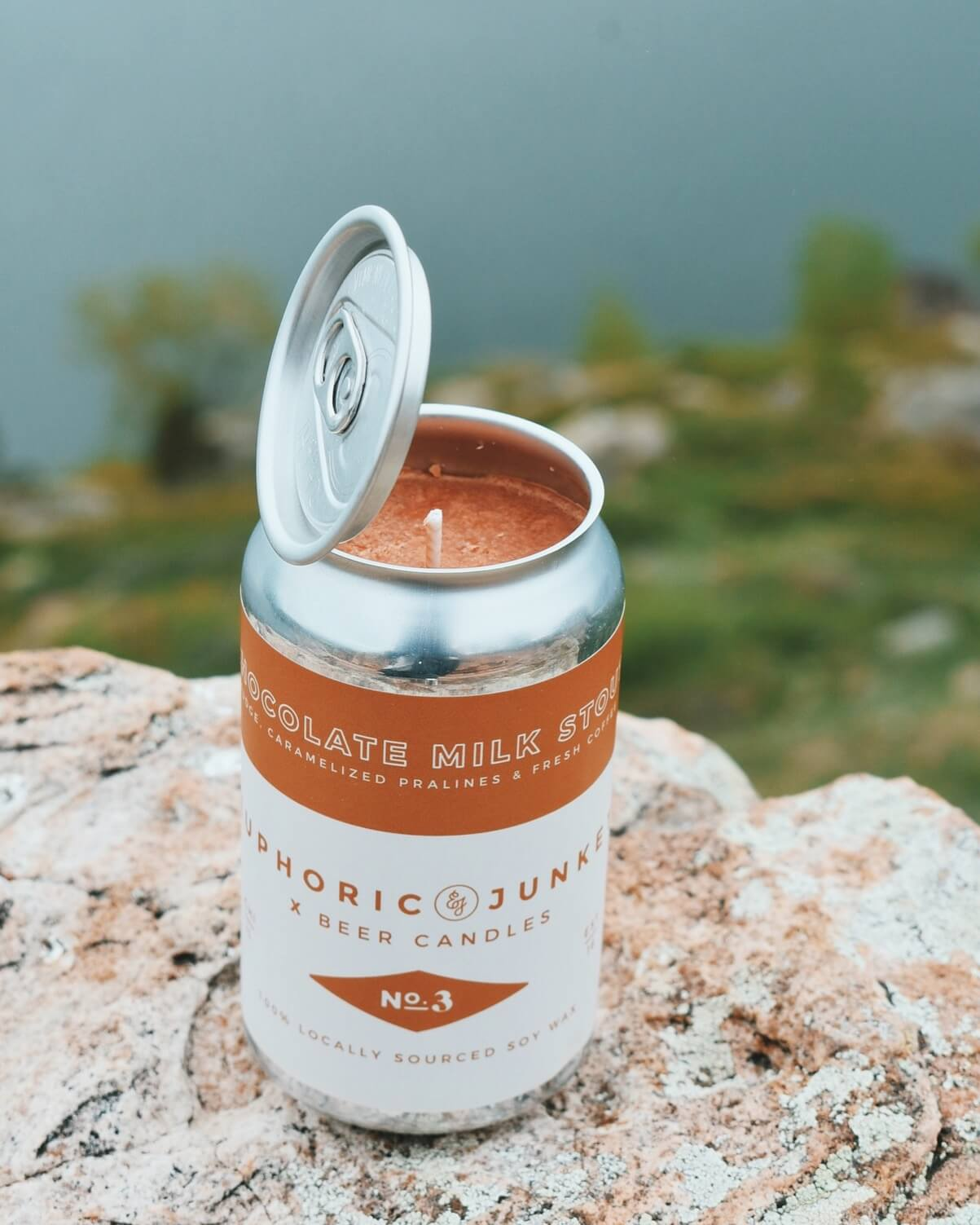 Chocolate Milk Stout Beer CAN·dle