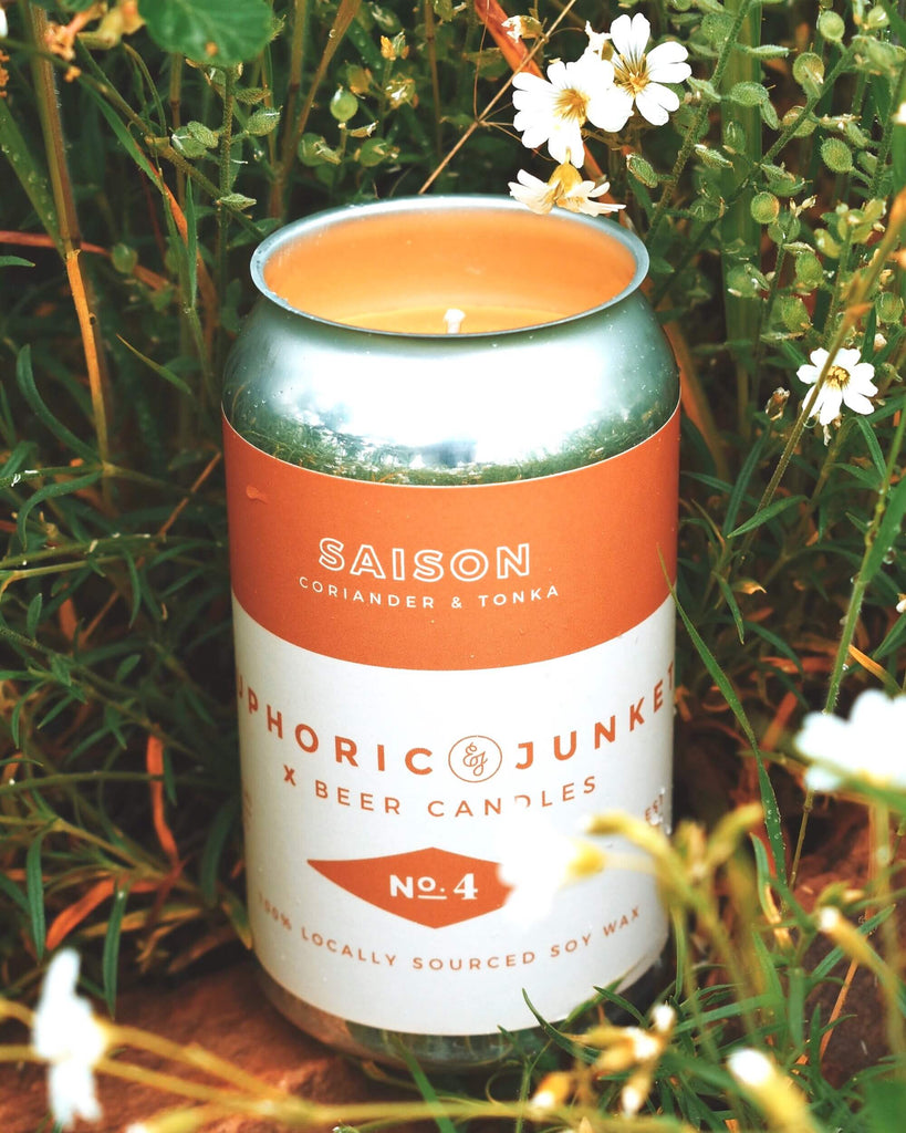 Saison Beer CAN·dle