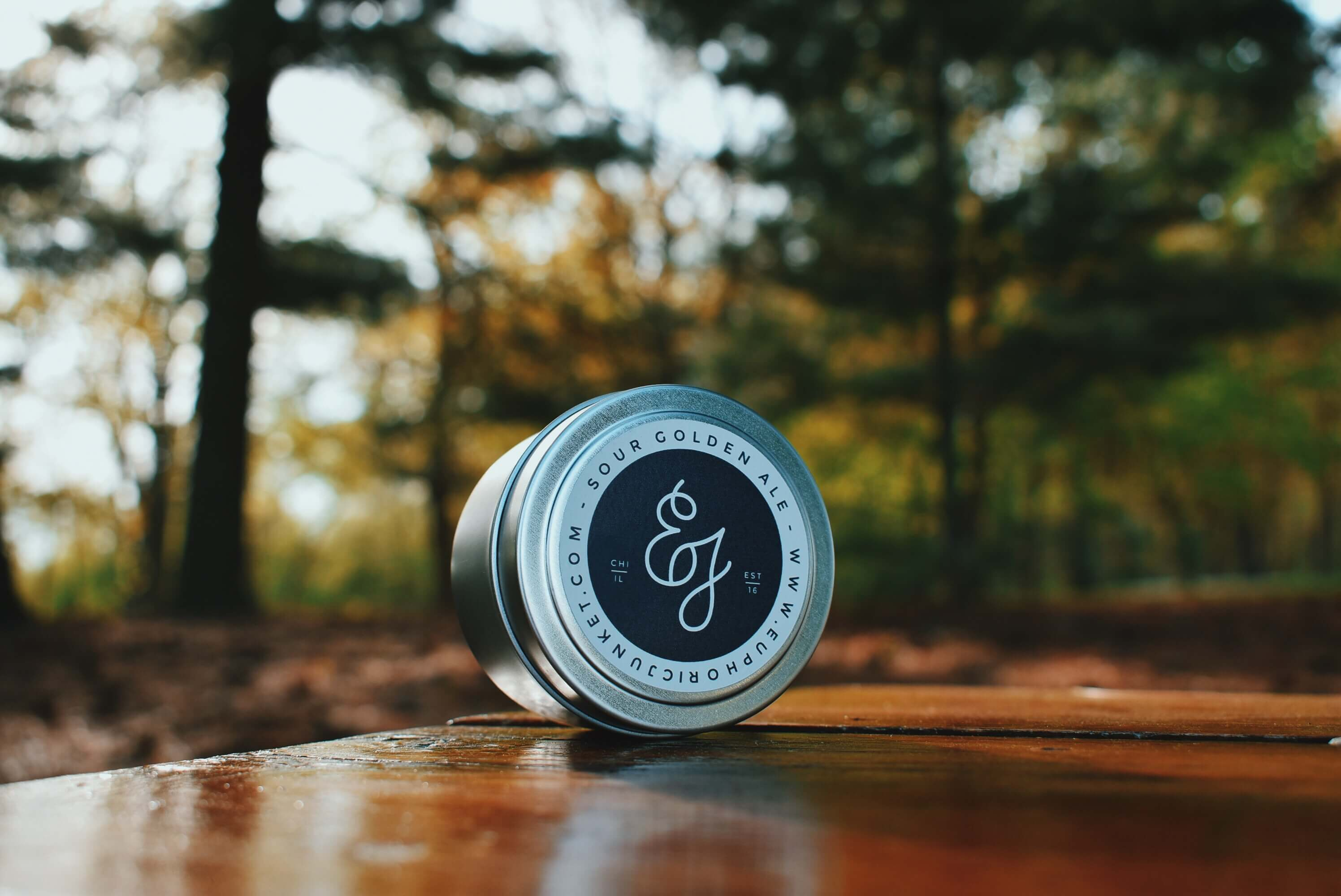 Sour Golden Ale Travel Candle