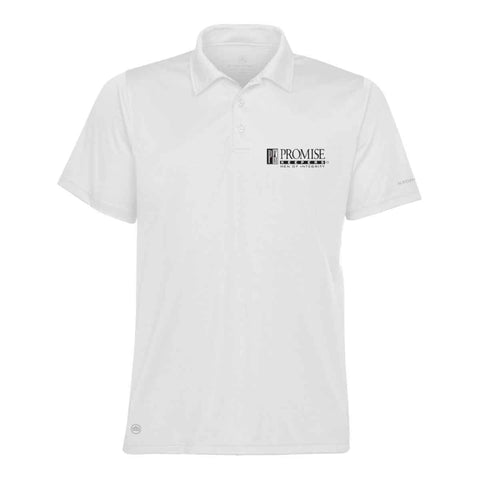 Promise Keepers – Men of Integrity - DRY Tech Polo - White