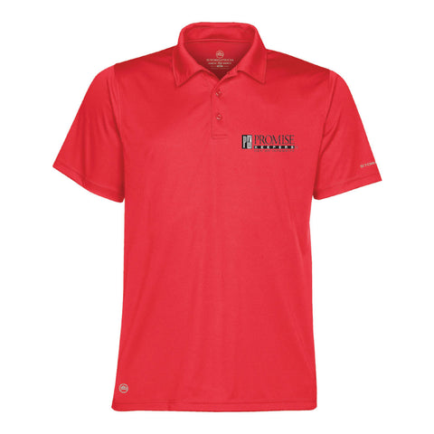 Promise Keepers – Men of Integrity - DRY Tech Polo - Scarlet Red