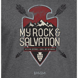 My Rock And Salvation Arrowhead Hooded Christian T-Shirt