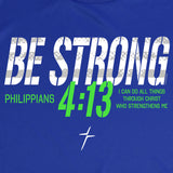 Be Strong Mens Active T-Shirt