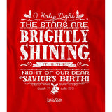 The Stars Are Brightly Shining Long Sleeve Christian T-Shirt ™