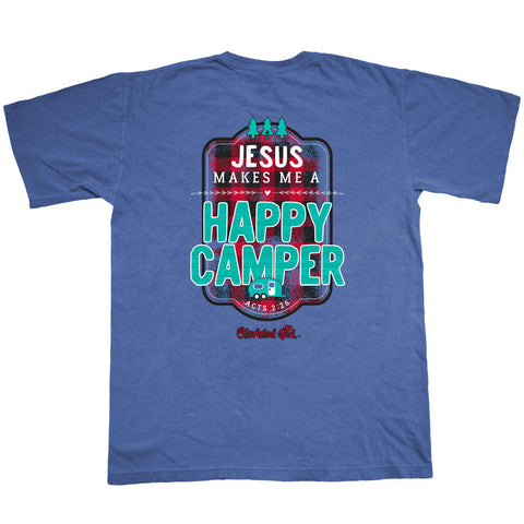 Camper Cherished Girl Adult T-Shirt