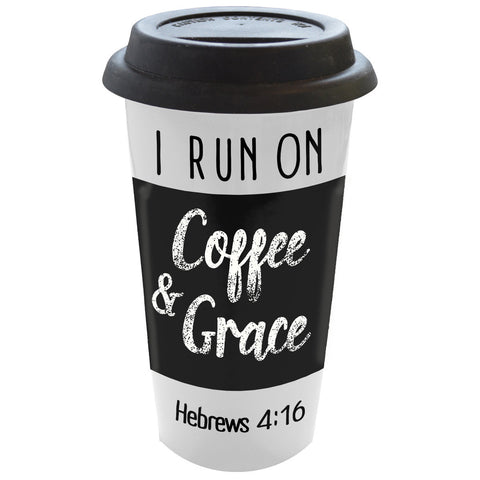 Coffee & Grace Ceramic Mug