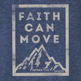 Faith Can Move V-Neck T-Shirt ™