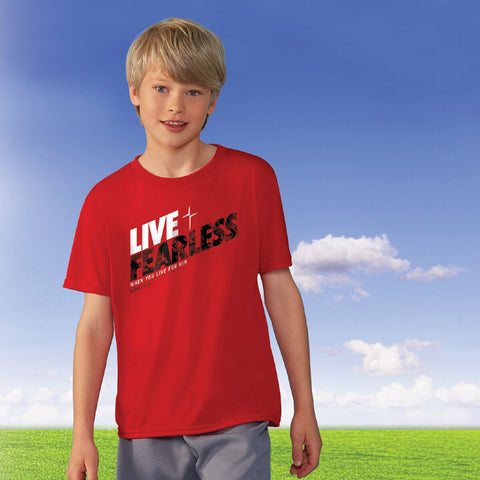 Live Fearless Kids Active T-Shirt ™