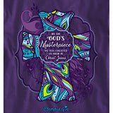 We Are God's Masterpiece Cherished Girl Long Sleeve Christian T-Shirt