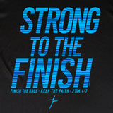 Strong To The Finish Mens Active T-Shirt