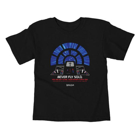 Flying Solo Kids T-Shirt