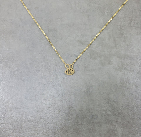 Bee Gold Necklace
