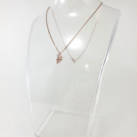Heart Best Friends Rose Gold Necklace