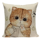 Cute Cat Pillow CAT1
