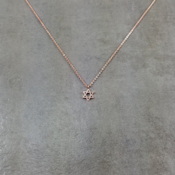 David Rose Gold Necklace
