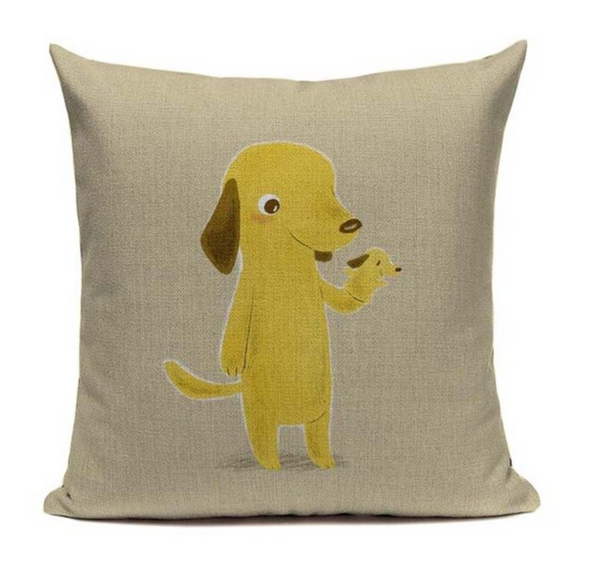 Dog Hand Puppet Pillow Cover DOG13