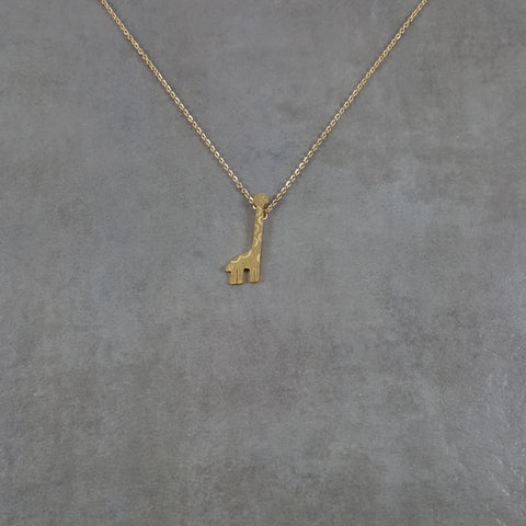 Giraffe Gold Necklace