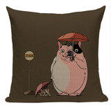 Totoro French Bulldog Pillow JP1