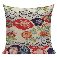 Japanese Pattern Pillow Cover JP20