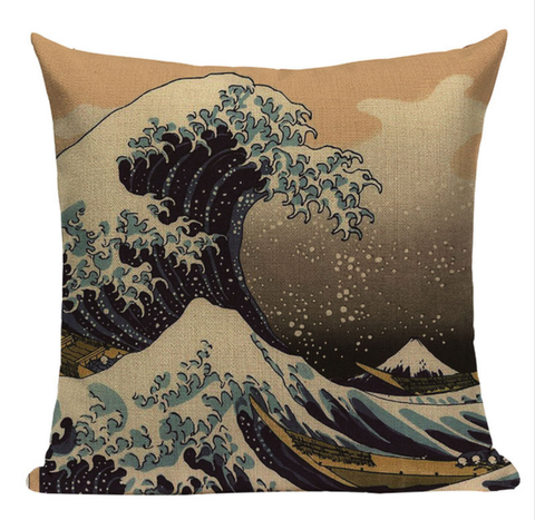 Ocean Waves Pillow JP3
