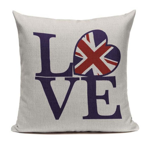 Love Britain Pillow Cover L1