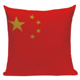 Chinese Flag Pillow Cover L21