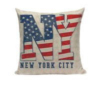 New York City Pillow Cover L4