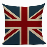 United Kingdom Flag Pillow Cover L6