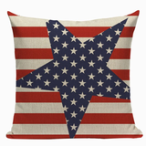 Stars and Stripes Pillow Cover L7