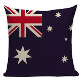 Australian Flag Pillow Cover L8