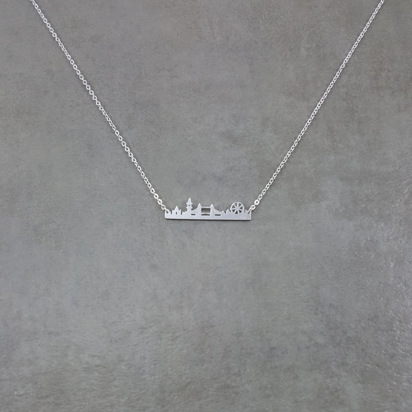 London Silver Necklace