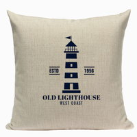 Old Lighthouse Pillow Cover N10