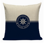 Welcome Aboard Wheel Pillow N1