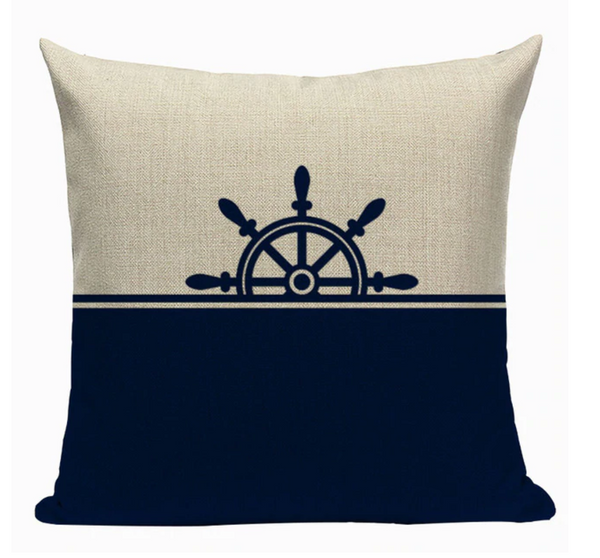 Ship Wheel Pillow N2