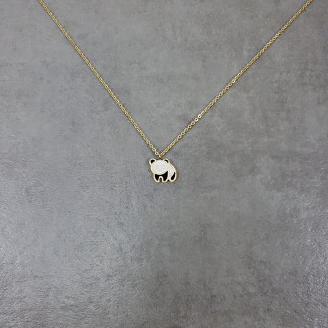 Panda Gold Necklace