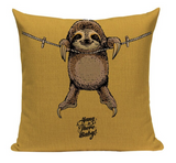 Sloth Hang Baby Pillow PUG5