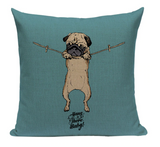 Pug Hang Pillow PUG7