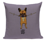 Pug Hang Pillow PUG8