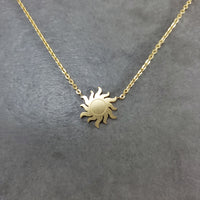 Sun Gold Necklace