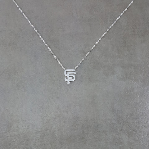 San Francisco Silver Necklace